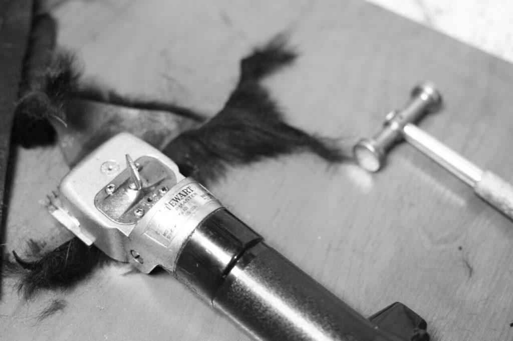 Maszynka do strzyżenia włosa kożucha