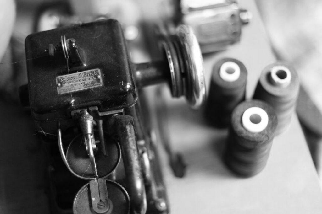 Maszyna kuśnierska do szycia kożuchów